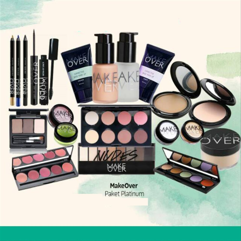Make Over Make Over Paket Platinum Seserahan 21 Produk