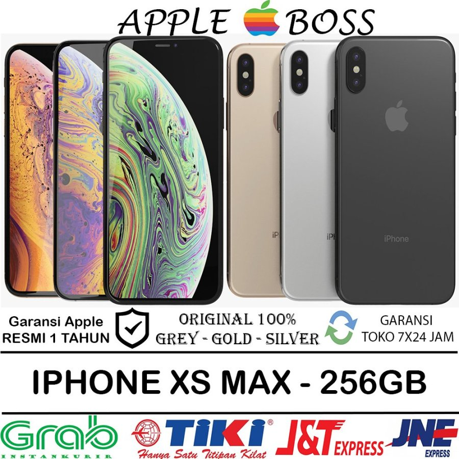 iPhone XS Max 256GB Dual Sim HK All Colors