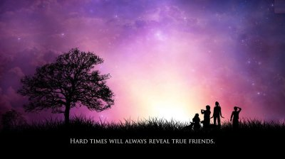 Friendship Quotes HD - Wallpaper, High Definition, High Quality, Widescreen