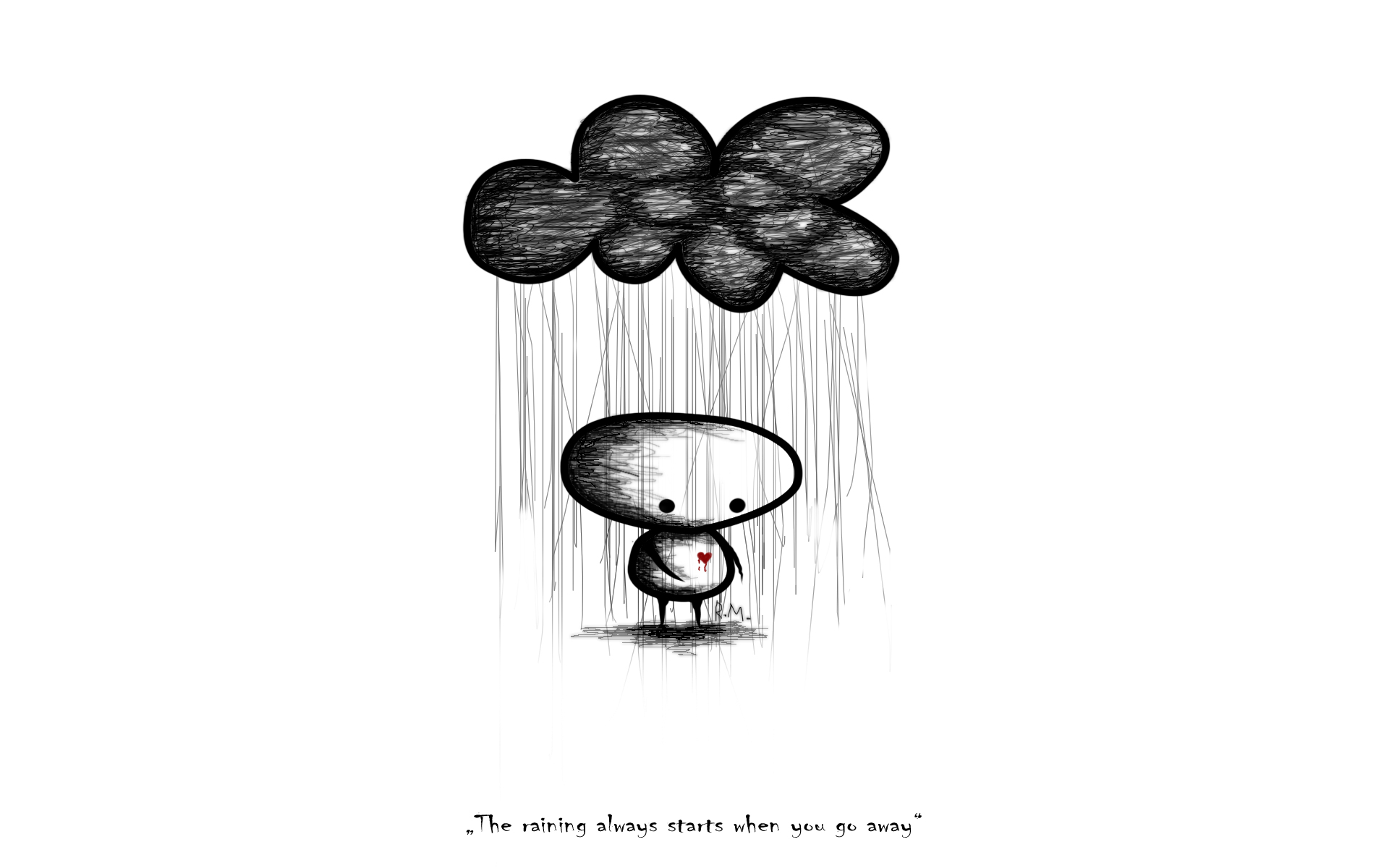 Sad Anime Quotes Wallpaper For Computers Sad Rain Background Wallpaper High Definition High