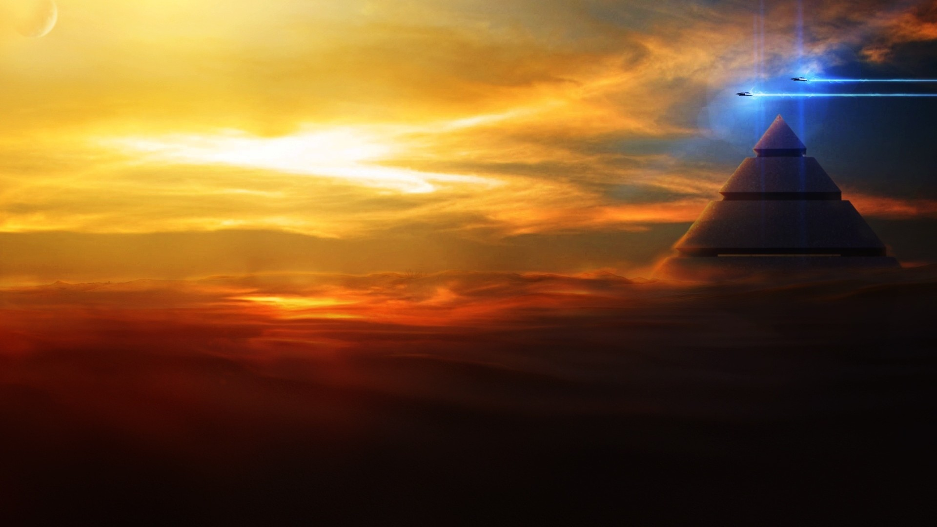 Egypt Pyramids Hd Wallpapers Sunset Pyramid Wallpaper High Definition High Quality