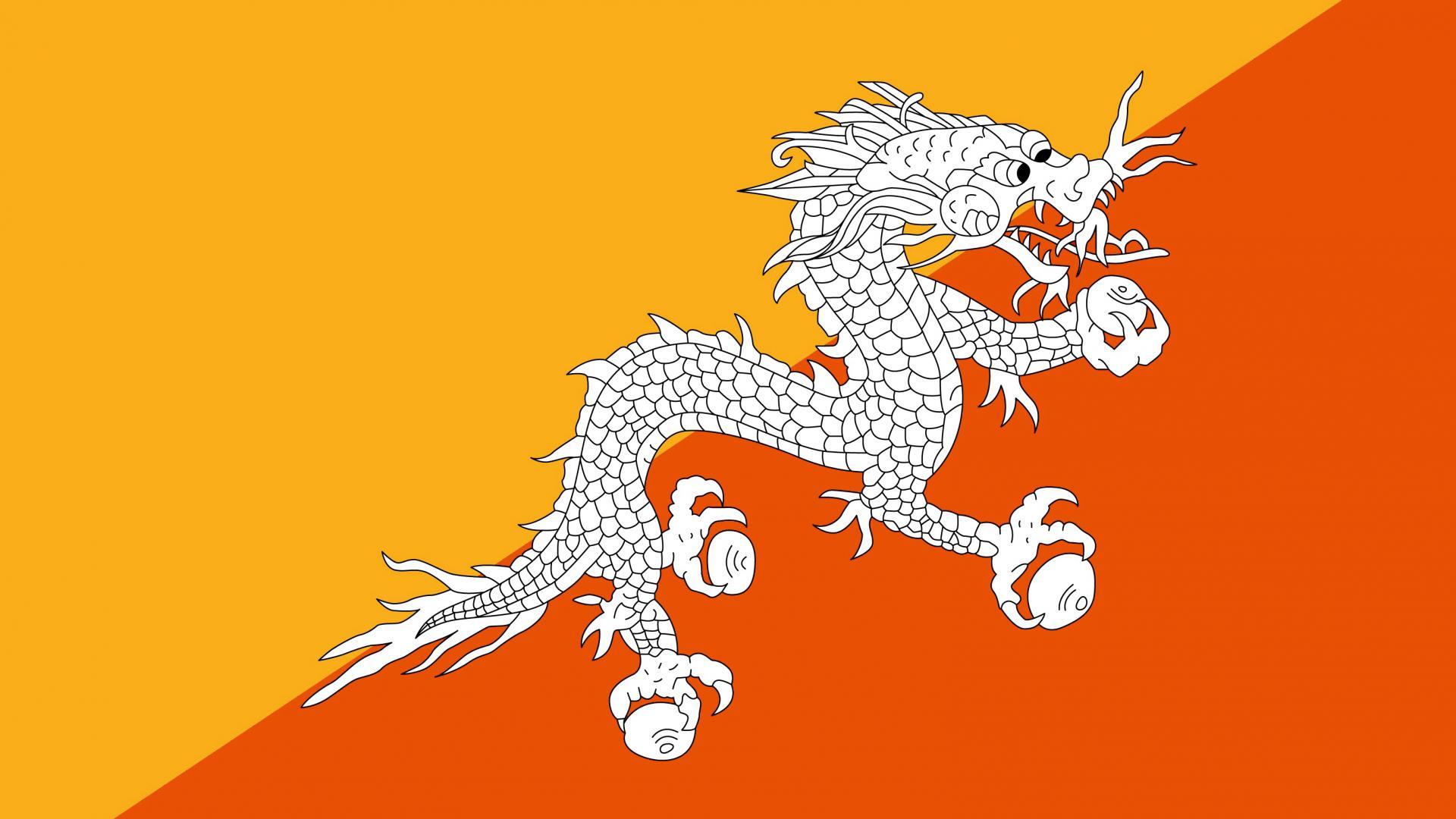 2560x1024 Hd Wallpaper Bhutan Flag Wallpaper High Definition High Quality