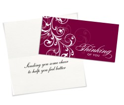 Small Of Thinking Of You Cards