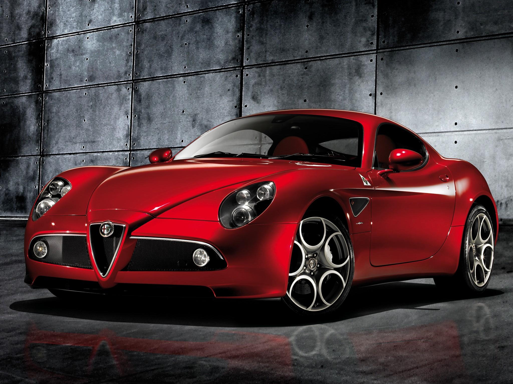 Fast And Furious Car Wallpaper Download Alfa Romeo 8c Competizione Specs 2007 2008 2009