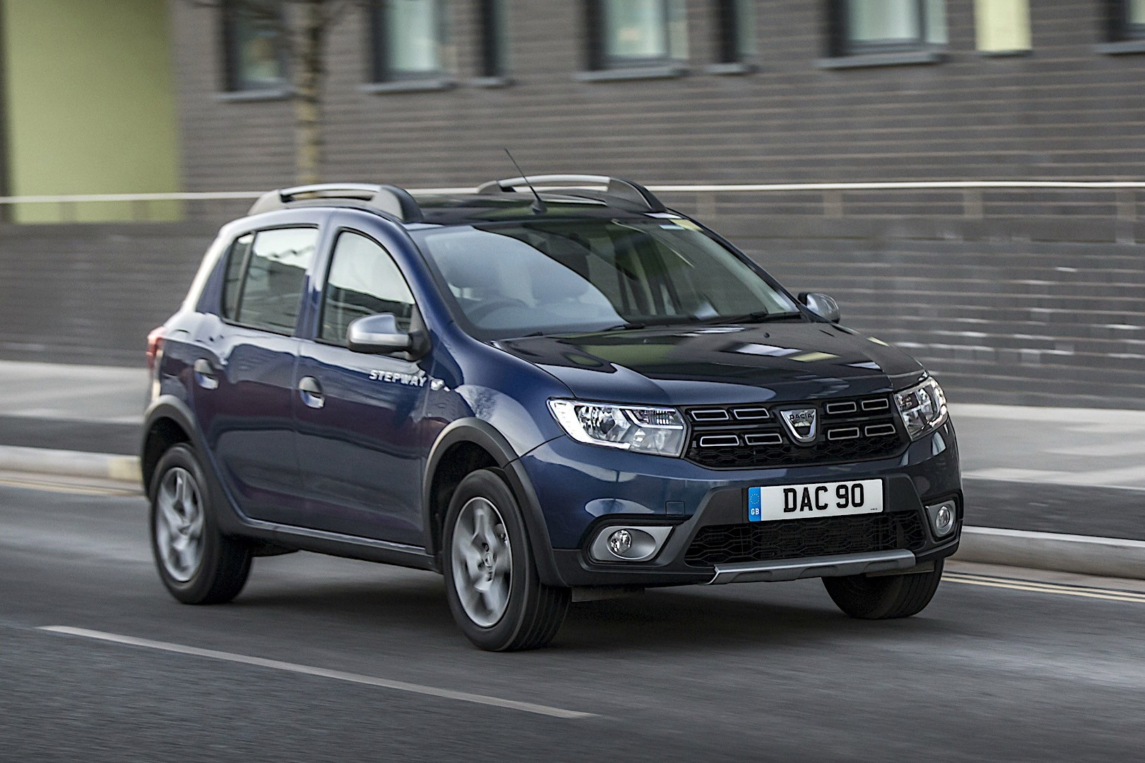 2019 dacia sandero stepway new model with modern design