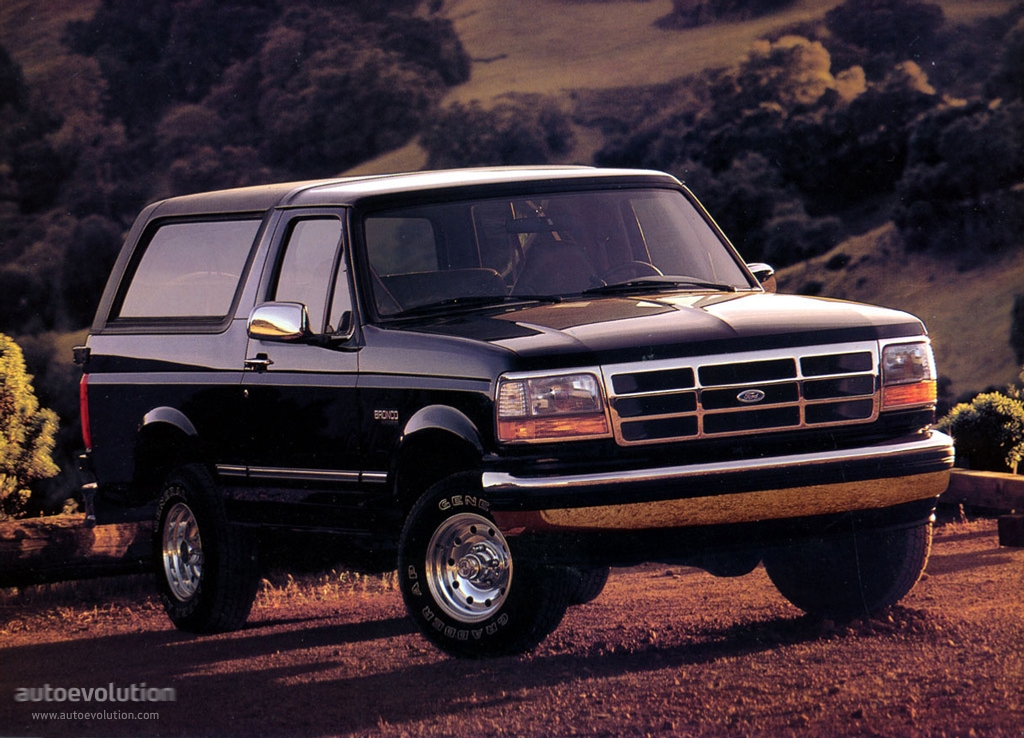 Car Safety Features Crumple Zones Ford Bronco Specs Photos 1992 1993 1994 1995 1996