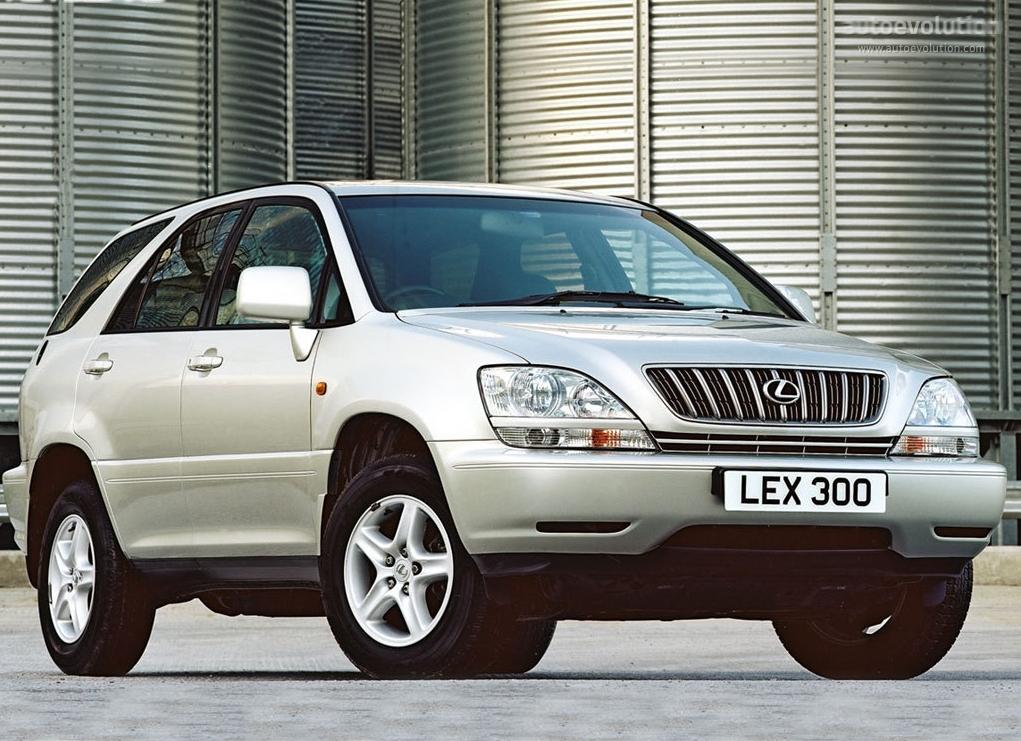 Lexus Rx Specs 1998 1999 2000 2001 2002 2003