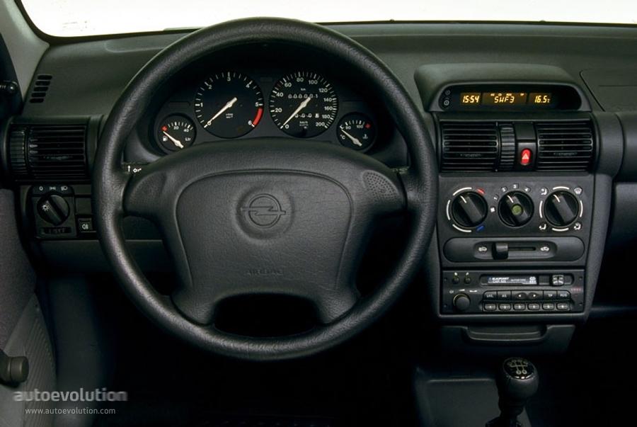 OPEL Corsa 5 doors specs  photos - 1997, 1998, 1999, 2000