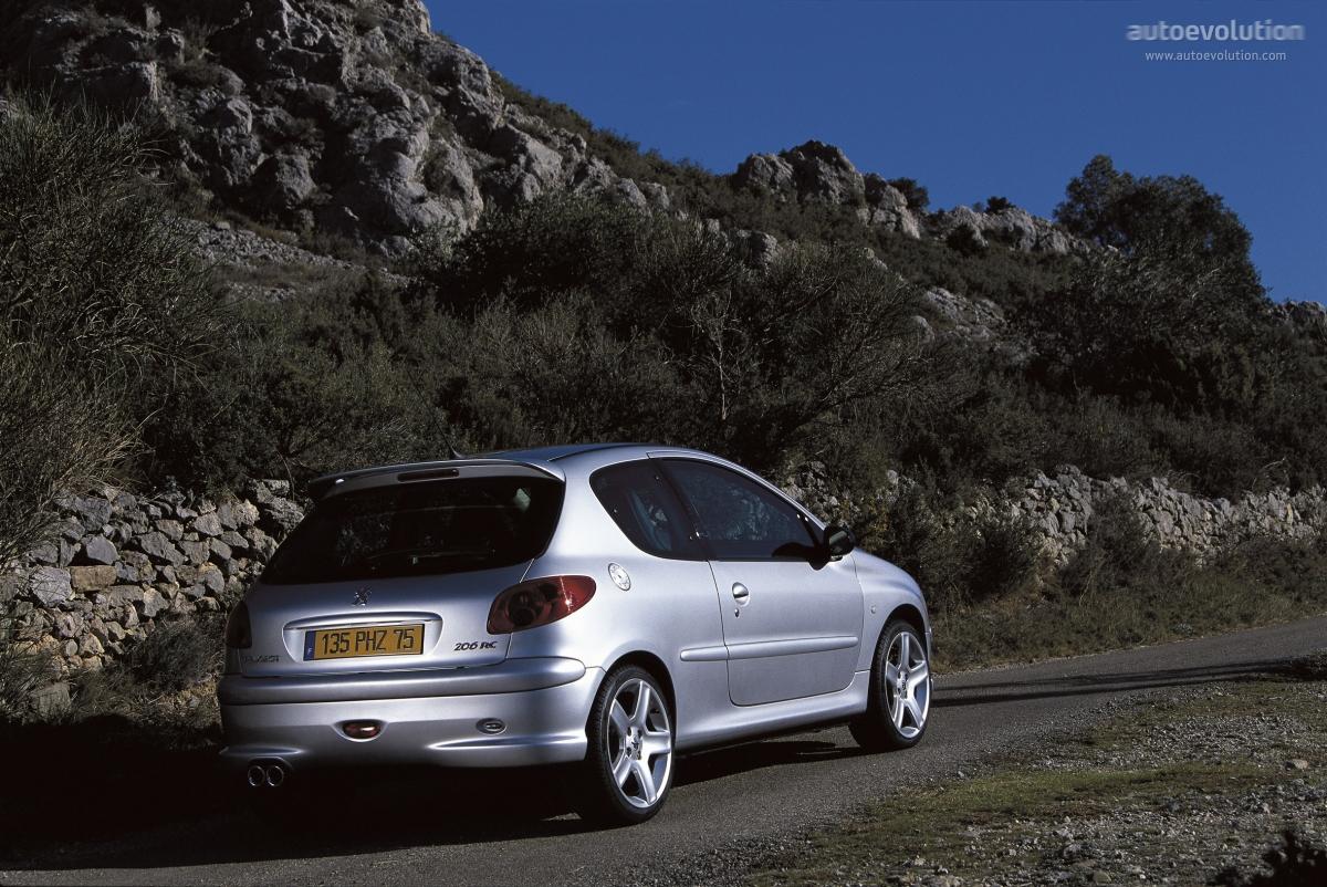 Car Lineup Wallpaper Peugeot 206 Rc Specs Amp Photos 2003 2004 2005 2006