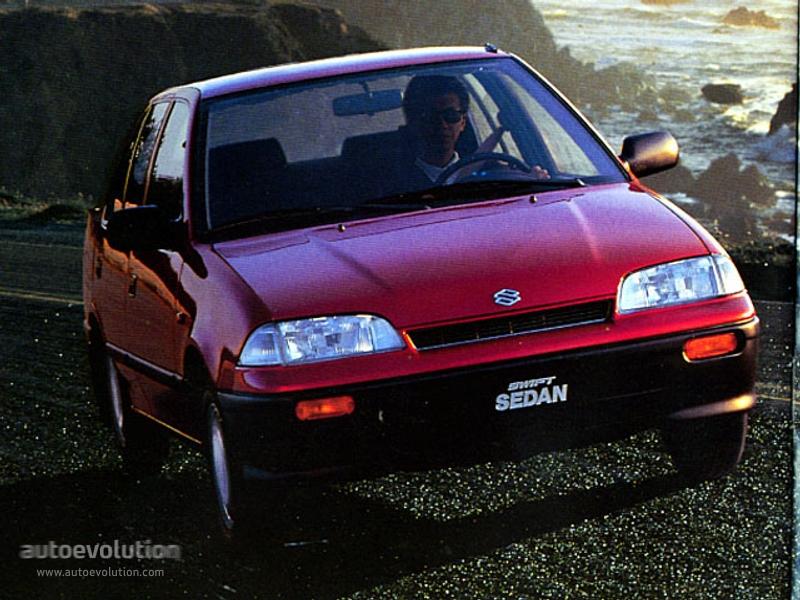 Cars Wallpaper With Names Suzuki Swift Sedan 1991 1992 1993 1994 1995 1996