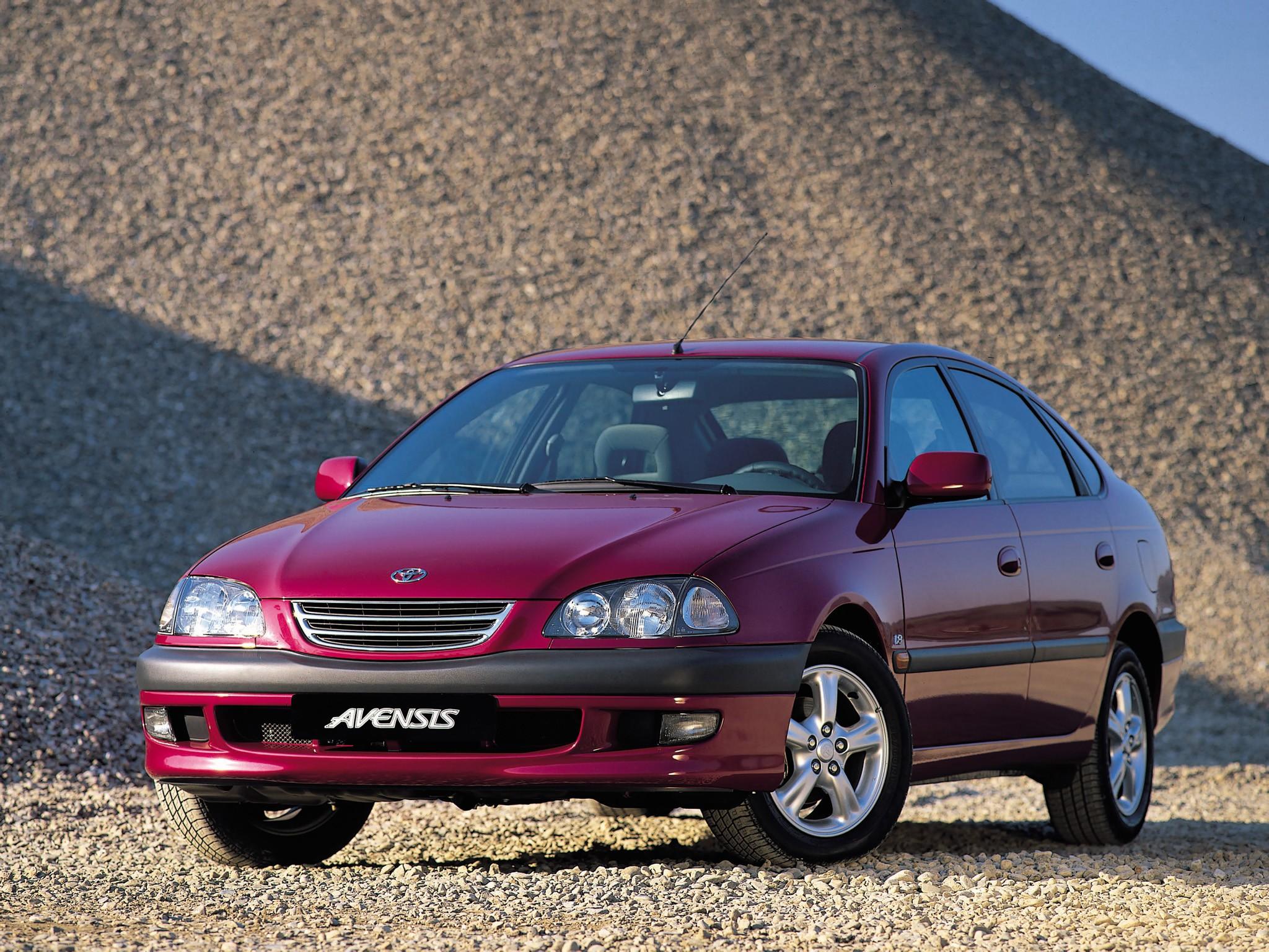 Diesel Wallpaper Cars Toyota Avensis Liftback 1997 1998 1999 2000 2001