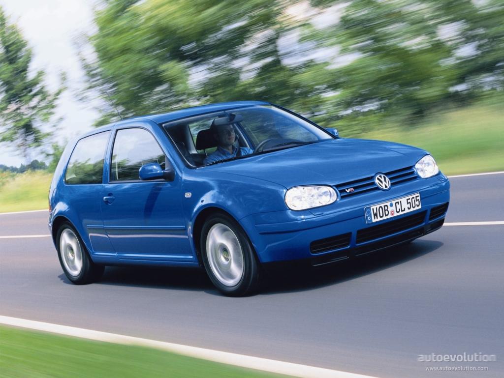 Volkswagen golf iv 3 doors 1997 1998 1999 2000 2001