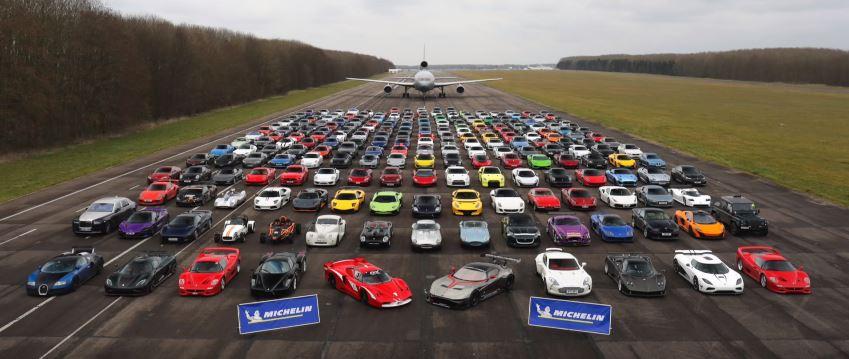 Car Stunt Wallpaper 105 Million Secret Supercar Meet 2018 Has It All