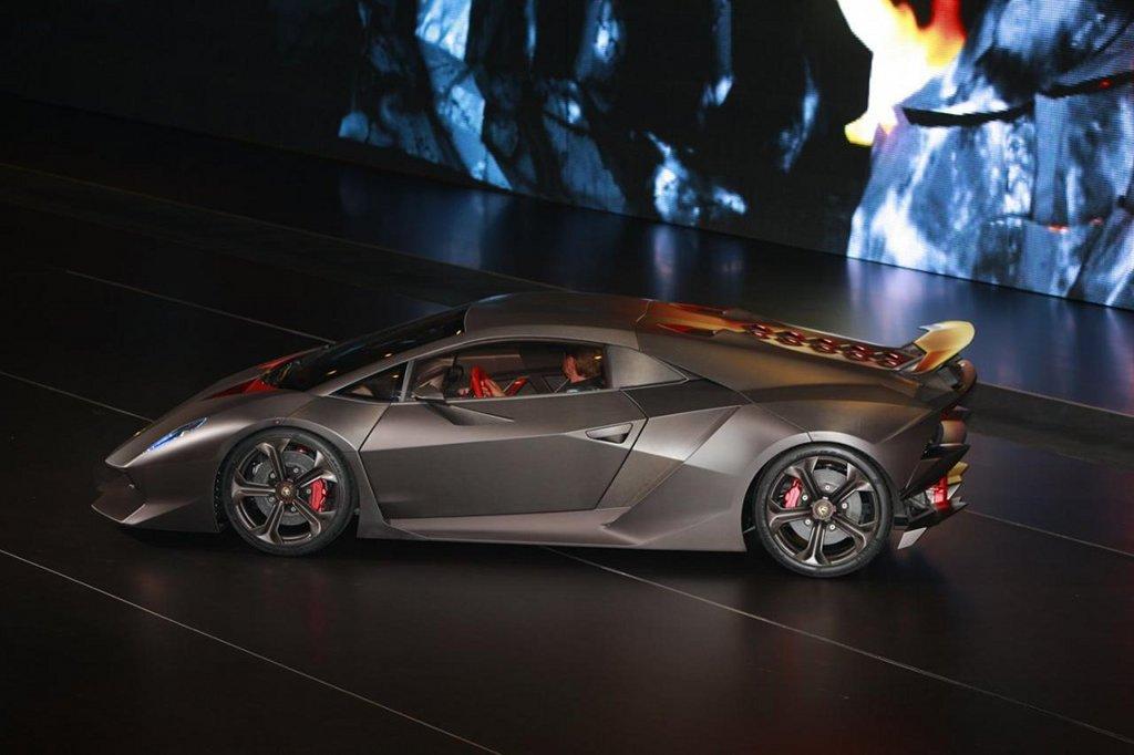 Cars Wallpaper Hd Lambo Ferrari 2010 Paris Auto Show Lamborghini Sixth Element Concept