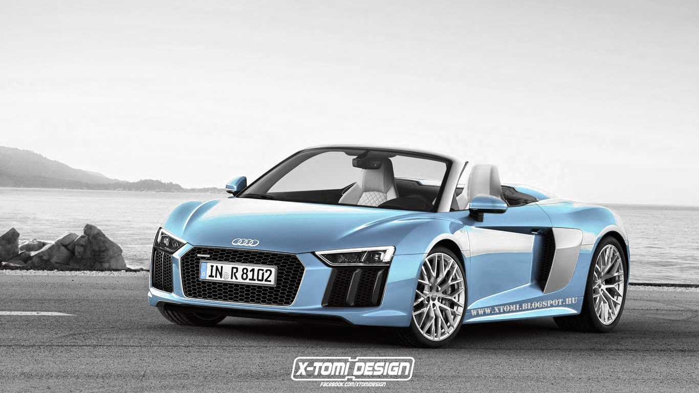 Oooo Car Wallpaper 2016 Audi R8 Spyder Rendered In Different Colors