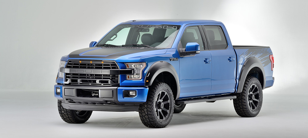 2016 Roush F-150 SC Packs 600 Horsepower - autoevolution