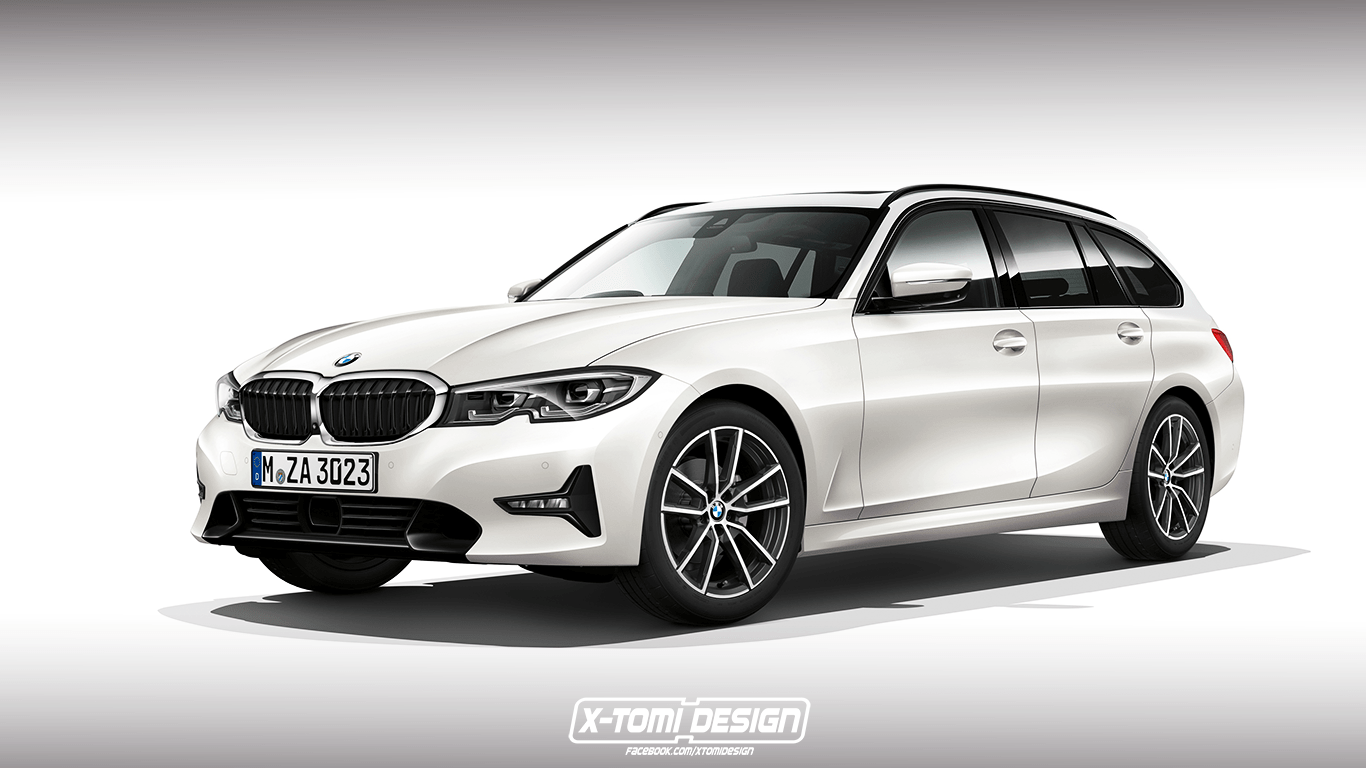 Car Lineup Wallpaper 2020 Bmw 3 Series Wagon And Gran Turismo Accurately