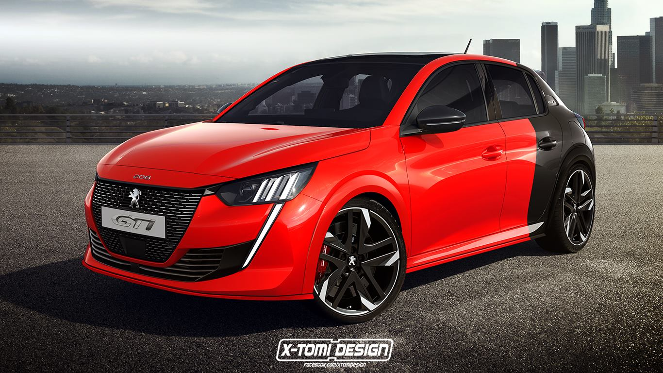 Hd Future Cars Wallpapers 2020 Peugeot 208 Gti Rendering Looks Juicy Autoevolution
