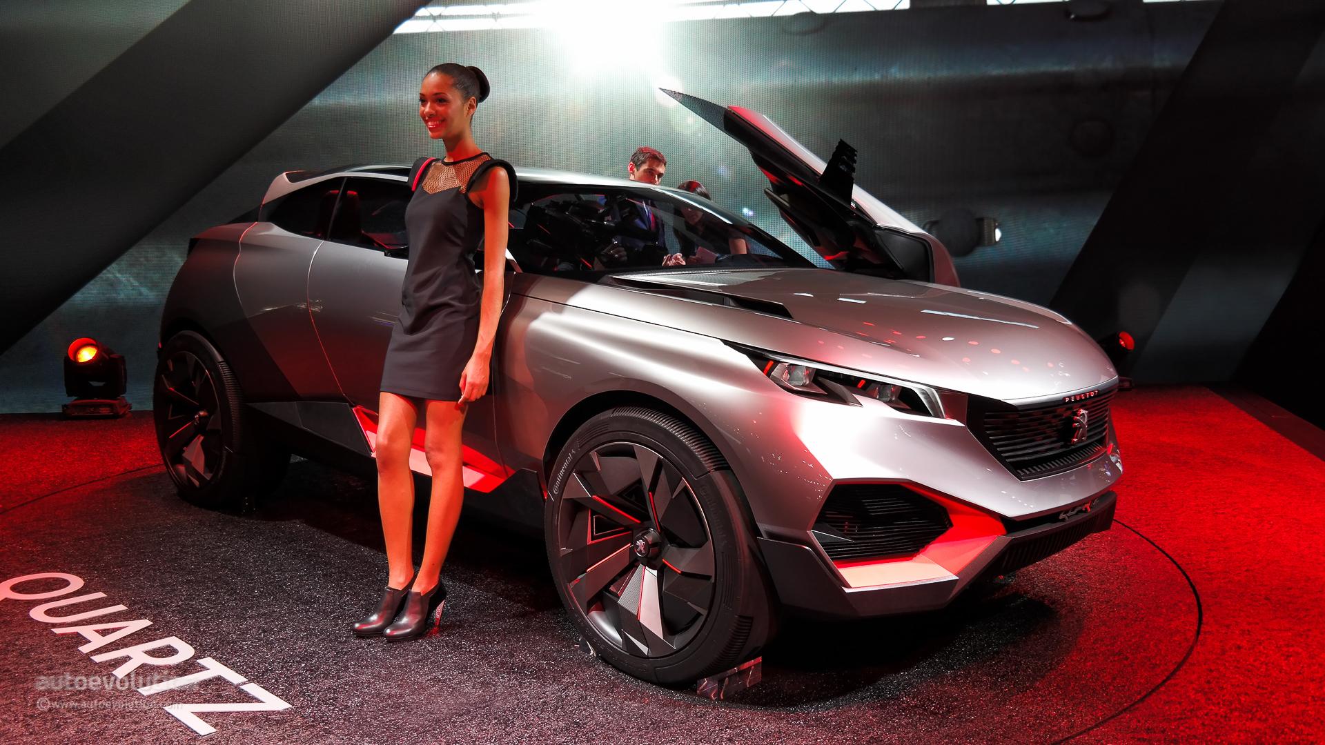 Machine Girl Wallpaper 500 Hp Peugeot Quartz Concept Previews Future French Suv