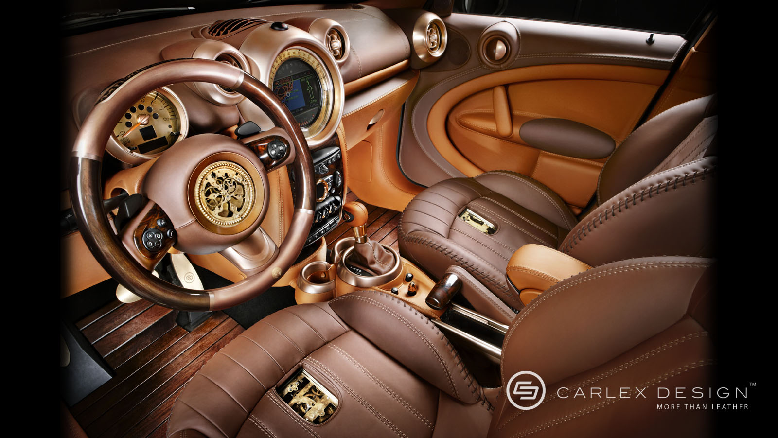 Mini Coupe Car Painting Wallpaper A Truly One Of A Kind Mini The Steampunk Countryman