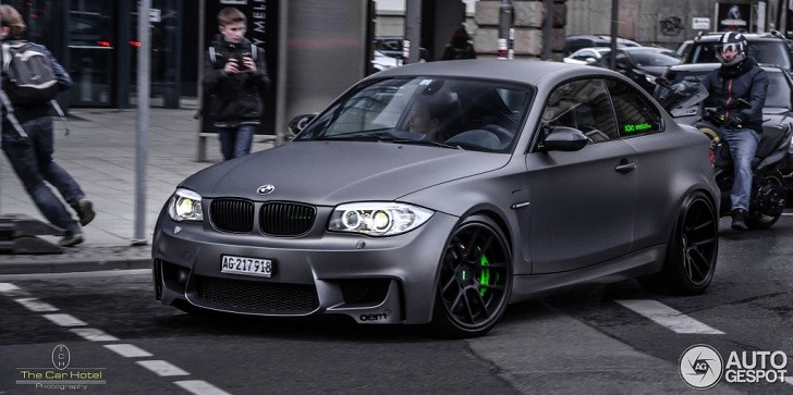 Couple Fall Wallpaper Beautiful Matte Grey Bmw 1m Coupe Spotted In Germany