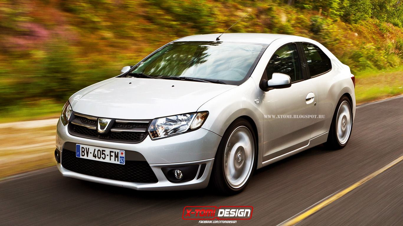 Dacia Coupe Dacia Logan Coupe Rendering Yes Please Autoevolution