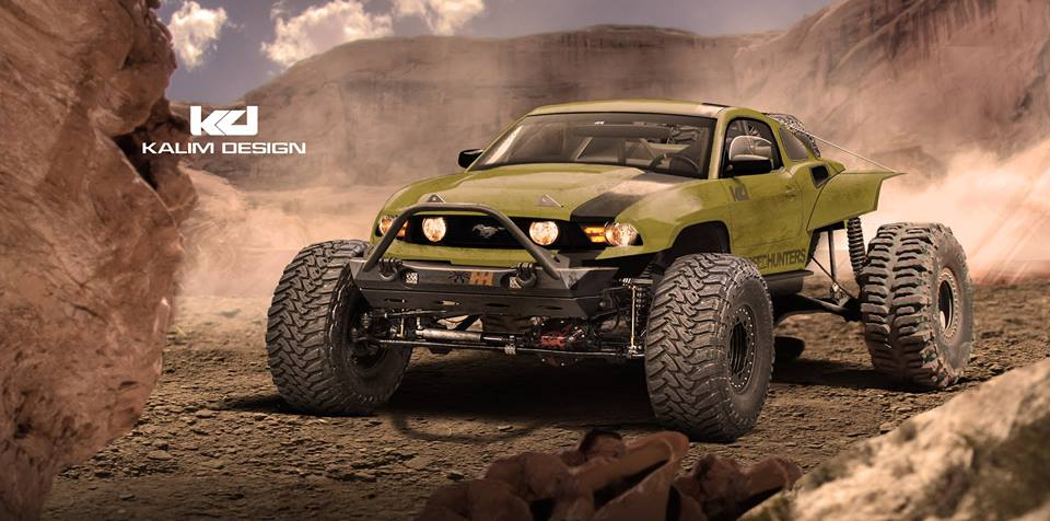 2017 Ford Raptor Hd Wallpaper Ford Mustang Baja Racer Rendered As The Latest Jportscar
