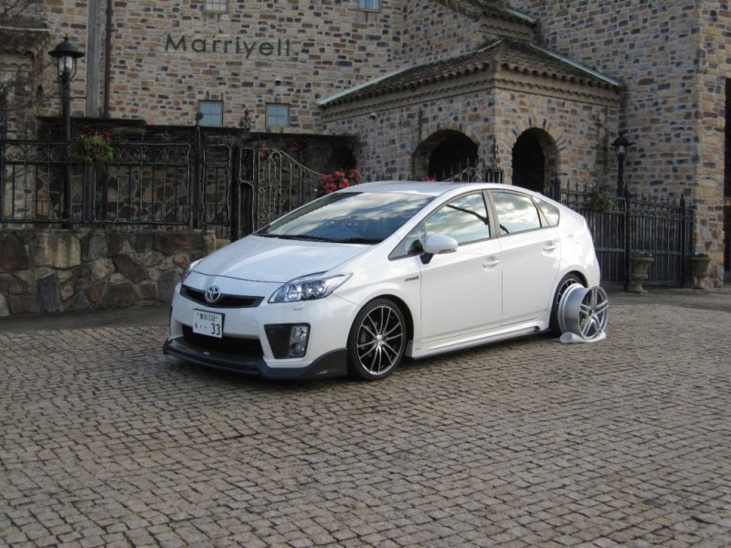 Mercedes Modified Cars Wallpapers 2010 Toyota Prius Tuned By Tommy Kaira Autoevolution