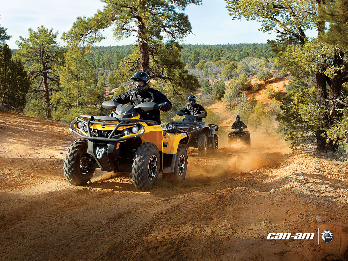 Car And Bike Live Wallpaper 2013 Can Am Outlander Xt Atvs Are Good And Look Evil
