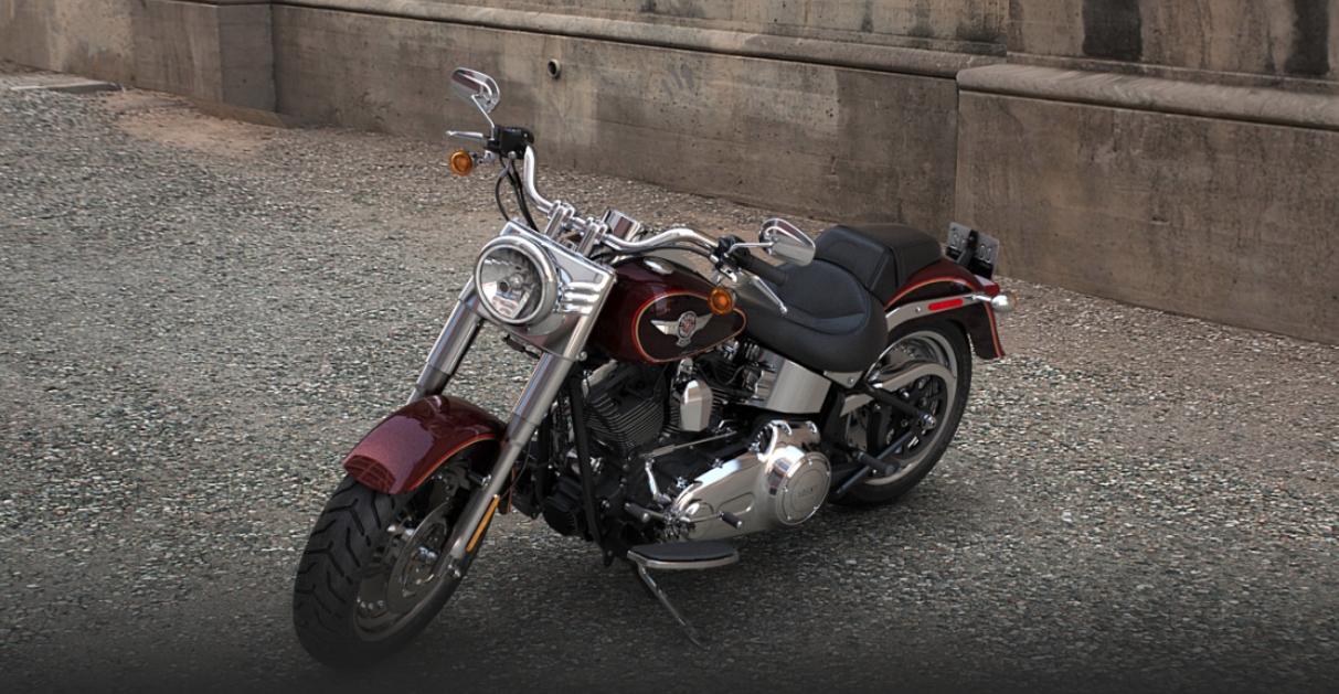 Custom Classic Car Wallpapers 2014 Harley Davidson Softail Fat Boy Flstf Preview