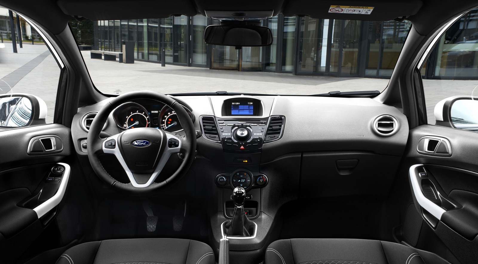 Ford Ka Interieur 2015 Ford Fiesta Black White Editions Detailed Ka Gets Similar