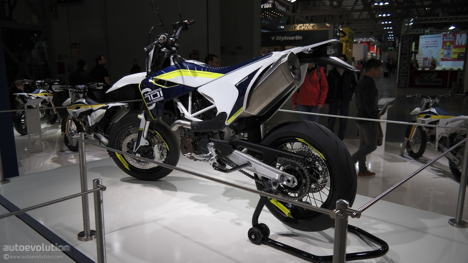 Full Hd Motorcycle Wallpaper 2015 Husqvarna 701 Supermoto Celebrates Brand S Return To