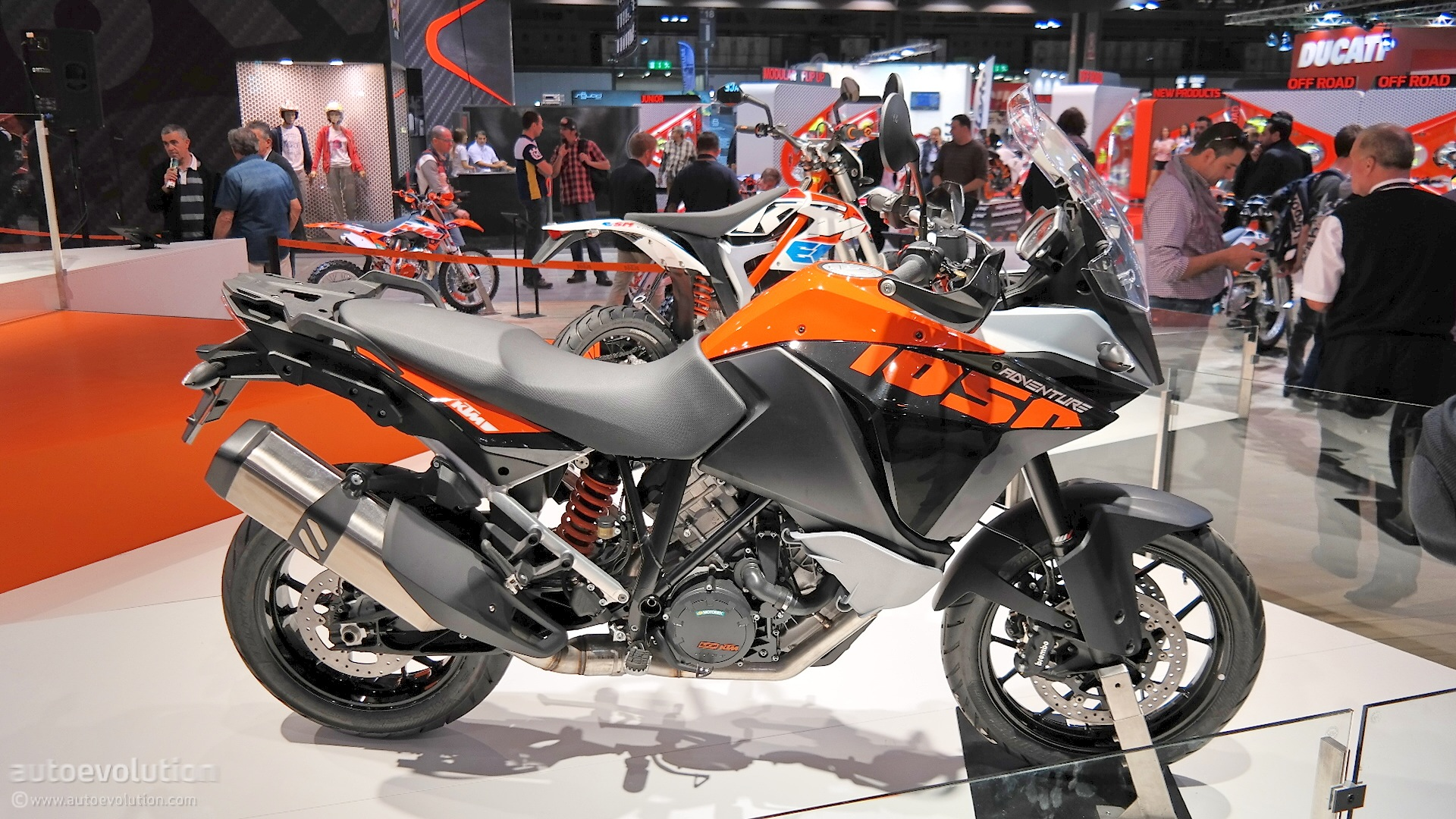 Car Engine Live Wallpaper 2015 Ktm 1050 Adventure Is Light And Maneuverable At Eicma