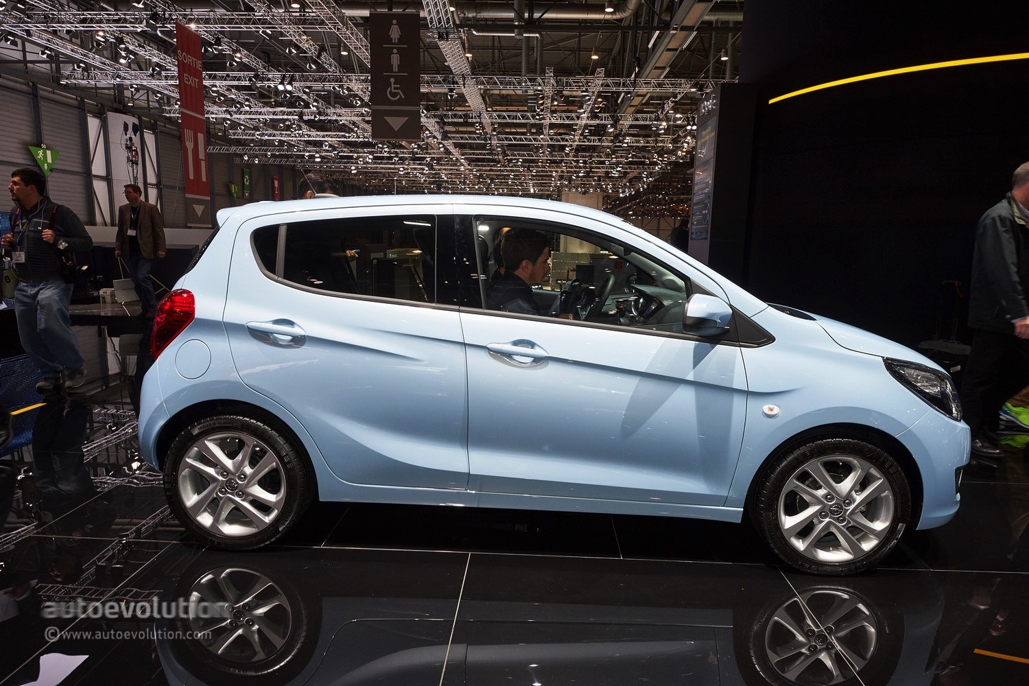 Opel Karl Opel Karl Lands In Geneva Its Rough Around The Edges