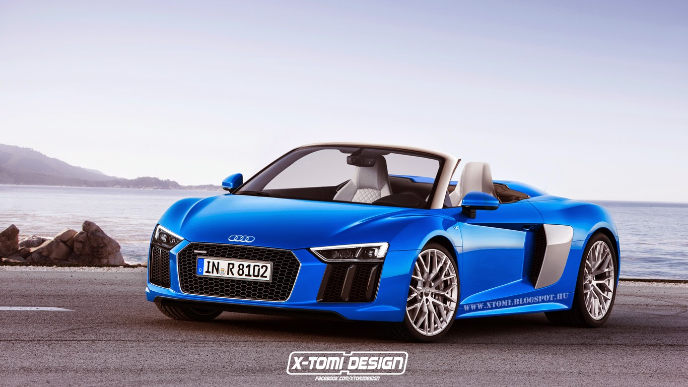 Super Fast Car Wallpaper 2016 Audi R8 Spyder Rendered In Different Colors