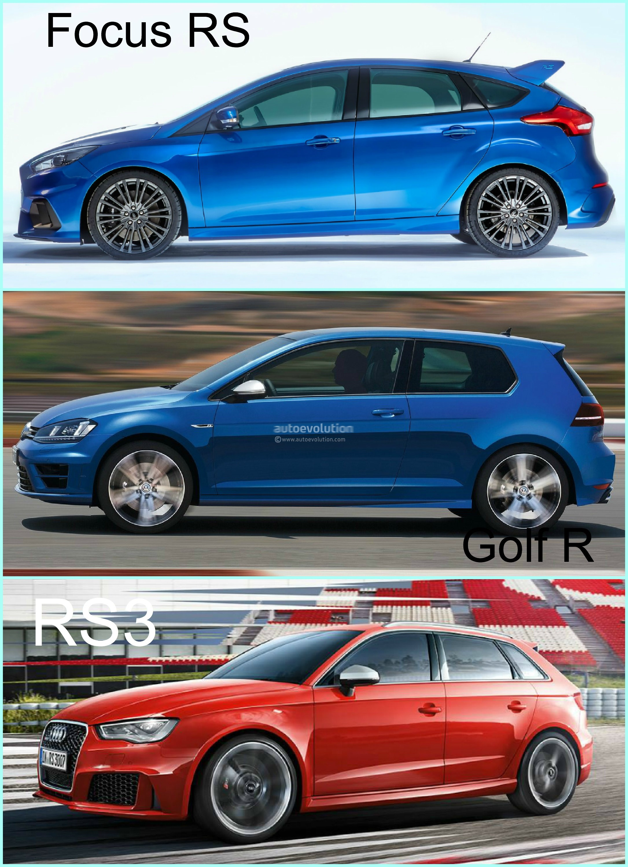 Gymkhana 7 Car Wallpaper 2016 Ford Focus Rs Vs Golf R And Audi Rs3 Hyper Hatch