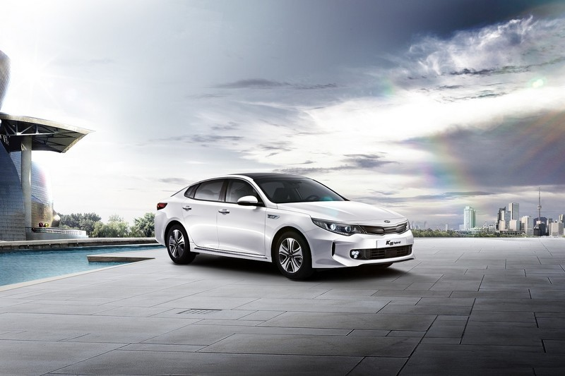 Vehicle Battery Manufacturers 2016 Kia Optima Sports Hybrid Sedan Debuts In Korea