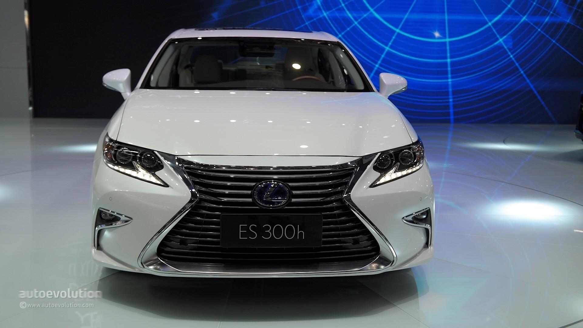 Luxury Car Pictures Wallpaper 2016 Lexus Es Facelift Is Full Of Self Esteem At Auto