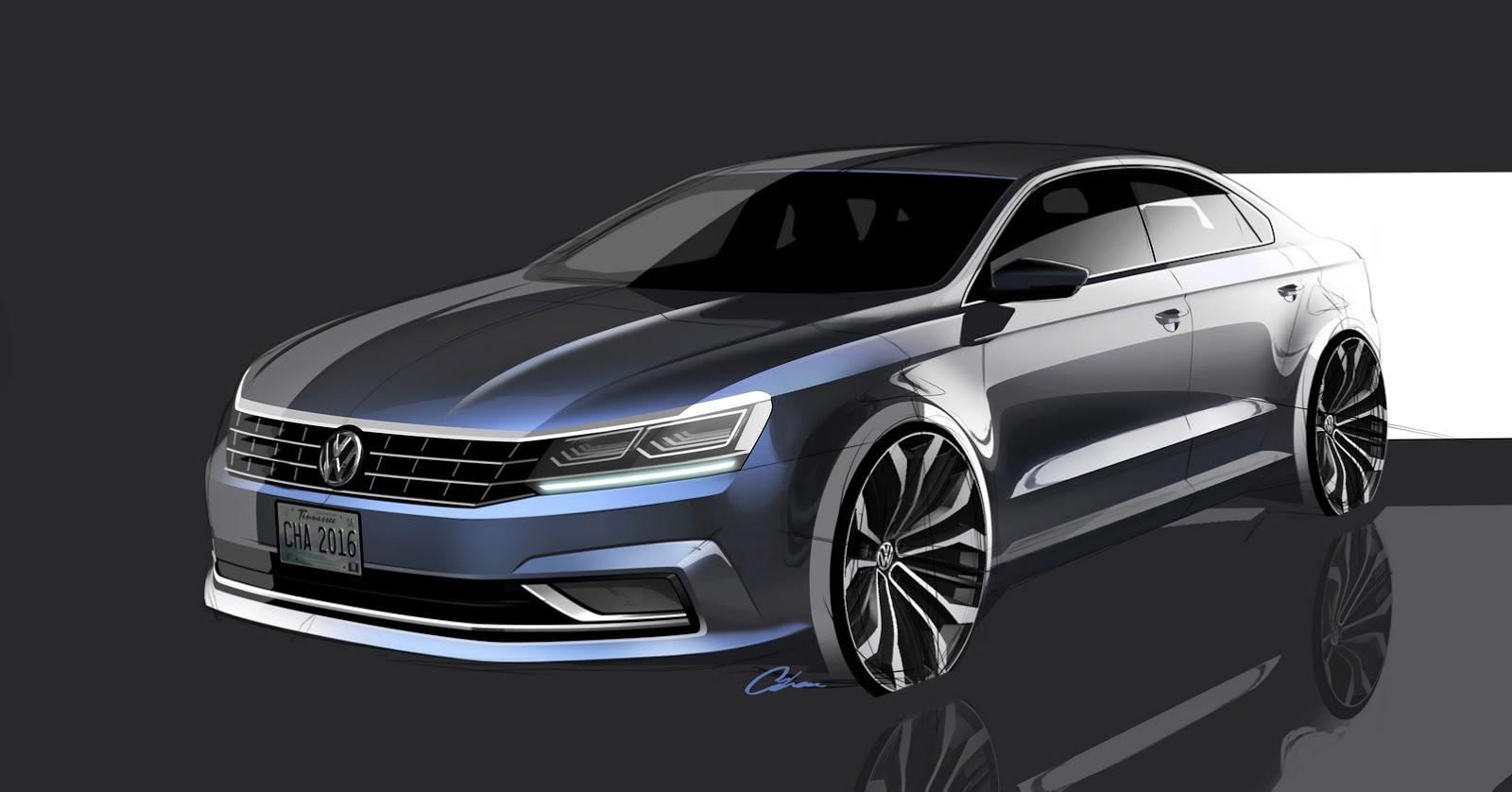 Car Display Wallpaper Vw 2016 Volkswagen Passat U S Pricing Announced Autoevolution