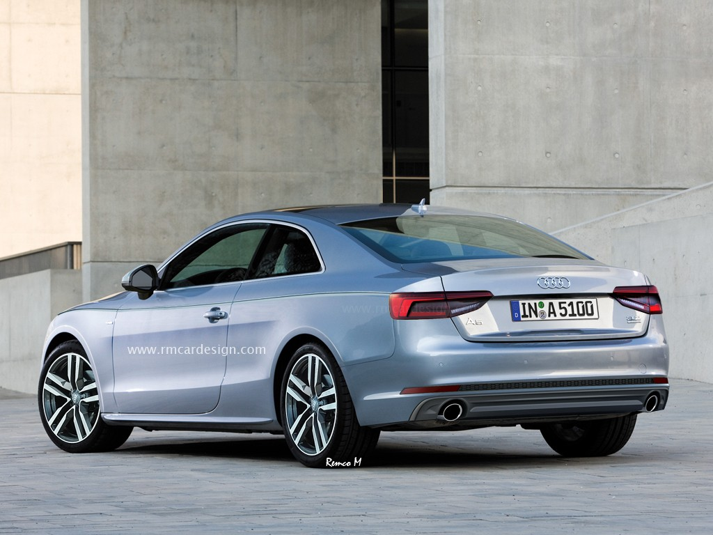 Audi A4 Coupe 2017 Audi A5 Rendered Again We Can See Audi A4 S Influence Oozing