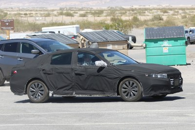 2018 Honda Accord Spied for the First Time, Partially Reveals Interior - autoevolution