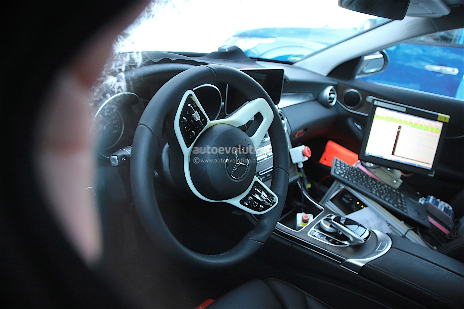 A Class 2018 Interior 2018 Mercedes Benz C Class Facelift Spied Reveals More Of