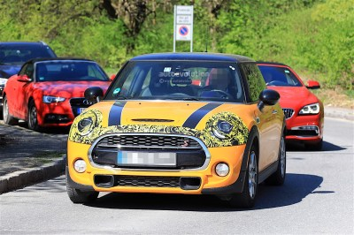 2018 MINI Cooper S Facelift Spotted Testing, It Has Minor Changes - autoevolution