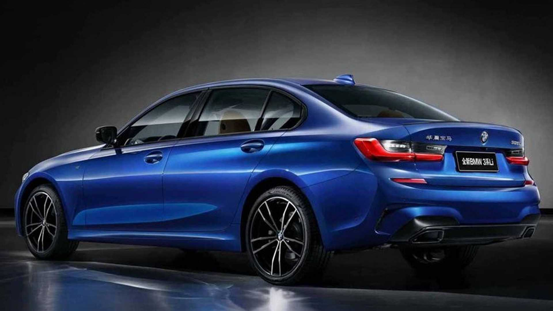 Bmw 2 Series Length 2019 Bmw 3 Series Shows Off Long Wheelbase In China
