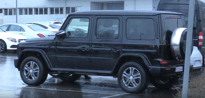 Baby Mercedes G Class 2019 Mercedes Benz G Class Shows Up In Stuttgart Looks