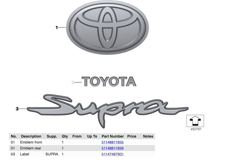 2019 Toyota Supra Diagrams Reveal Automatic Transmission Shifter