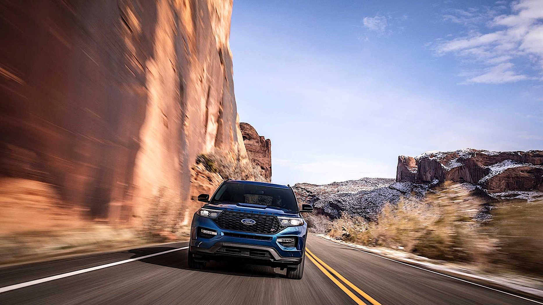 Bronco Cars Wallpaper 2020 Ford Explorer St Comes Into The World As The Most