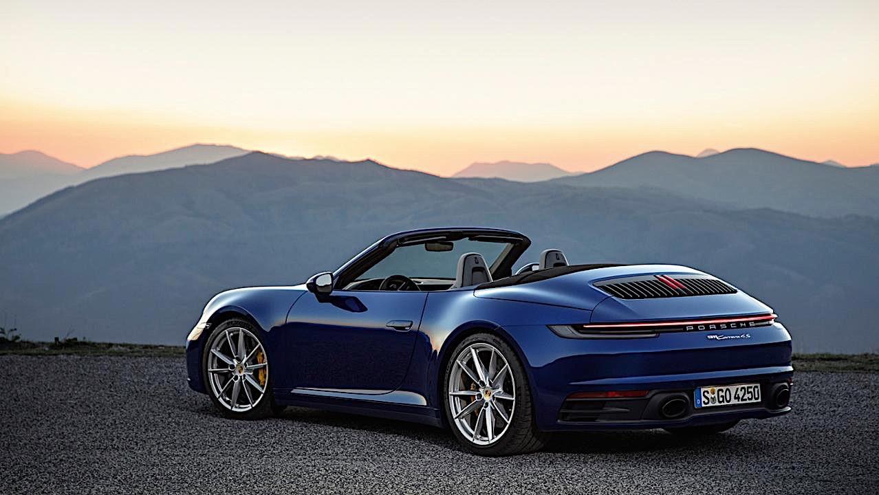 S4 Car Wallpaper 2020 Porsche 911 Cabriolet Revealed Weeks After Coupe
