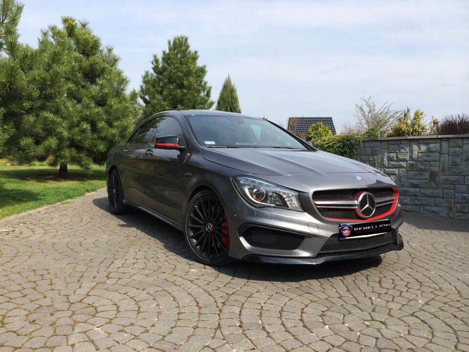 Hd Tune Up Cars Wallpaper 440 Hp Cla 45 Amg Might Be A Supercar Slayer Autoevolution