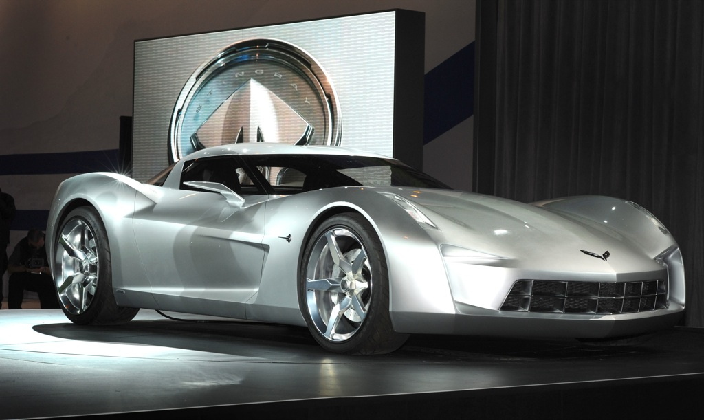 A Car Automotive 50th Anniversary Chevrolet Corvette Stingray Concept New